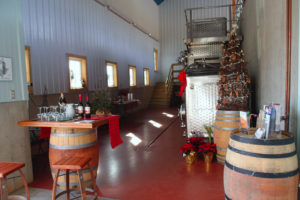 Winery at Christmas